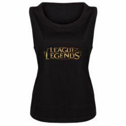 Женская майка League of legends logo