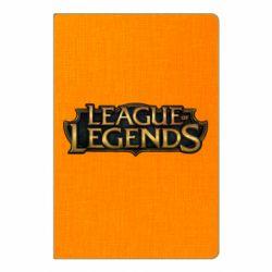 Блокнот А5 League of legends logo