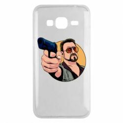 Чохол для Samsung J3 2016 Лебовськи з пістолетом