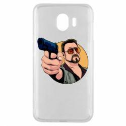 Чохол для Samsung J4 Лебовськи з пістолетом