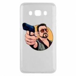 Чохол для Samsung J5 2016 Лебовськи з пістолетом