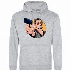 Чоловіча толстовка Лебовськи з пістолетом