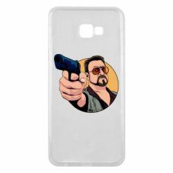 Чохол для Samsung J4 Plus 2018 Лебовськи з пістолетом