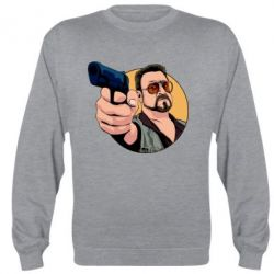 Реглан (світшот) Лебовськи з пістолетом