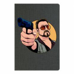 Блокнот А5 Лебовськи з пістолетом