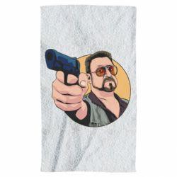 Рушник Лебовськи з пістолетом