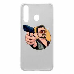 Чохол для Samsung A60 Лебовськи з пістолетом