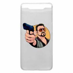 Чохол для Samsung A80 Лебовськи з пістолетом