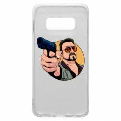 Чохол для Samsung S10e Лебовськи з пістолетом
