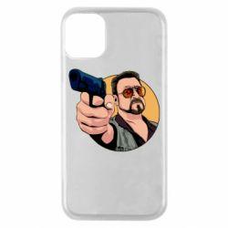 Чохол для iPhone 11 Pro Лебовськи з пістолетом