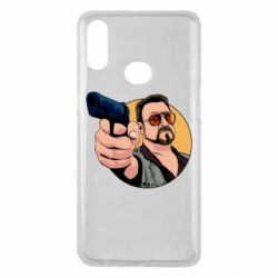 Чохол для Samsung A10s Лебовськи з пістолетом
