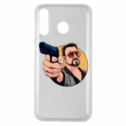 Чохол для Samsung M30 Лебовськи з пістолетом