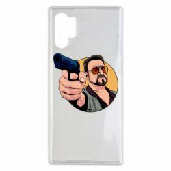 Чохол для Samsung Note 10 Plus Лебовськи з пістолетом