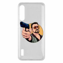 Чохол для Xiaomi Mi A3 Лебовськи з пістолетом