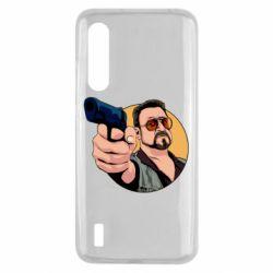 Чохол для Xiaomi Mi9 Lite Лебовськи з пістолетом