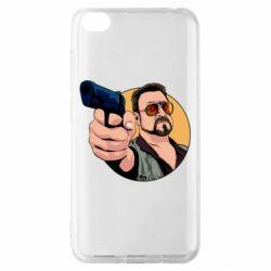 Чохол для Xiaomi Redmi Go Лебовськи з пістолетом