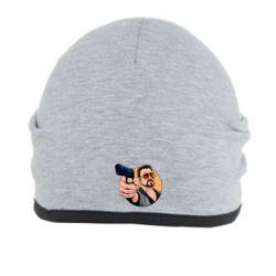 Шапка Лебовски с пушкой