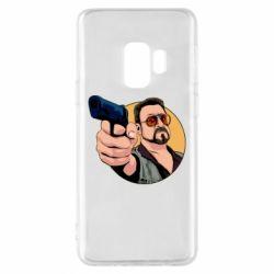 Чохол для Samsung S9 Лебовськи з пістолетом
