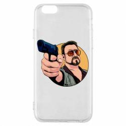 Чохол для iPhone 6/6S Лебовськи з пістолетом