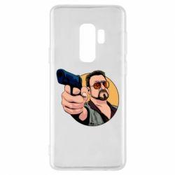 Чохол для Samsung S9+ Лебовськи з пістолетом