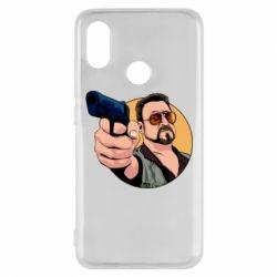Чохол для Xiaomi Mi8 Лебовськи з пістолетом