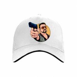 Кепка Лебовски с пушкой