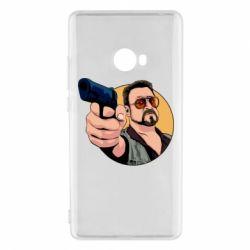 Чохол для Xiaomi Mi Note 2 Лебовськи з пістолетом