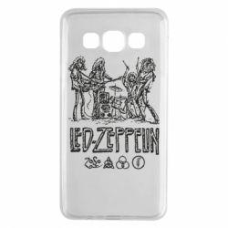 Чехол для Samsung A3 2015 Led-Zeppelin Art