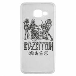 Чехол для Samsung A3 2016 Led-Zeppelin Art