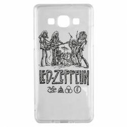 Чехол для Samsung A5 2015 Led-Zeppelin Art