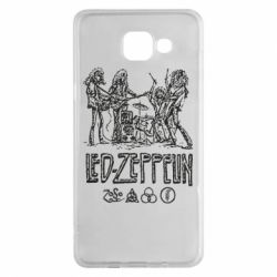 Чехол для Samsung A5 2016 Led-Zeppelin Art