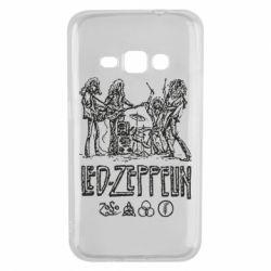 Чехол для Samsung J1 2016 Led-Zeppelin Art