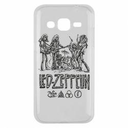 Чехол для Samsung J2 2015 Led-Zeppelin Art