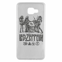 Чехол для Samsung A7 2016 Led-Zeppelin Art