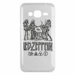 Чехол для Samsung J3 2016 Led-Zeppelin Art