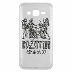 Чехол для Samsung J5 2015 Led-Zeppelin Art