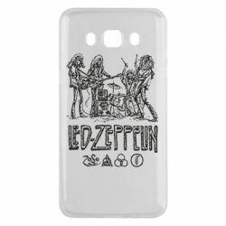 Чехол для Samsung J5 2016 Led-Zeppelin Art