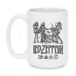 Кружка 420ml Led-Zeppelin Art