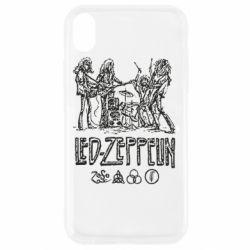 Чехол для iPhone XR Led-Zeppelin Art