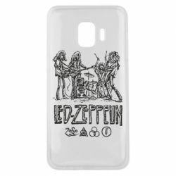 Чехол для Samsung J2 Core Led-Zeppelin Art