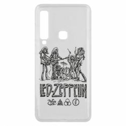 Чехол для Samsung A9 2018 Led-Zeppelin Art