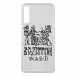 Чехол для Samsung A7 2018 Led-Zeppelin Art