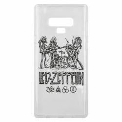 Чехол для Samsung Note 9 Led-Zeppelin Art