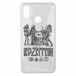 Чехол для Xiaomi Mi Max 3 Led-Zeppelin Art