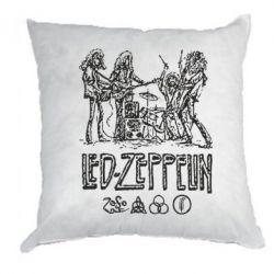 Подушка Led-Zeppelin Art