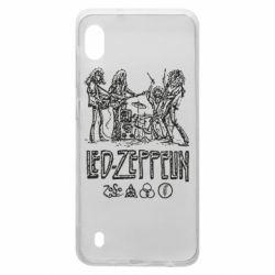 Чехол для Samsung A10 Led-Zeppelin Art