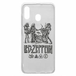 Чехол для Samsung A20 Led-Zeppelin Art