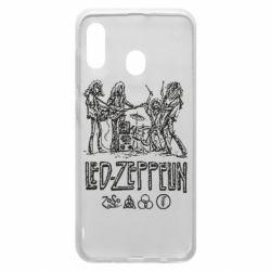 Чехол для Samsung A30 Led-Zeppelin Art