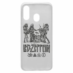 Чехол для Samsung A40 Led-Zeppelin Art