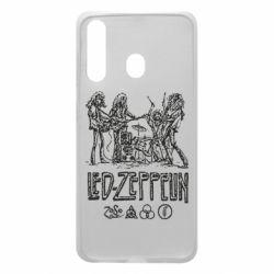 Чехол для Samsung A60 Led-Zeppelin Art